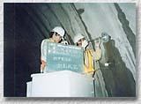 山岳トンネルの計測